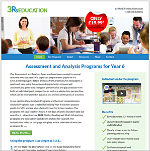 3Rs Education, SATs exam analysis support for primary school teachers