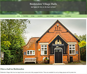 Biddenden Village Halls, halls for hire with full facilities in Kent