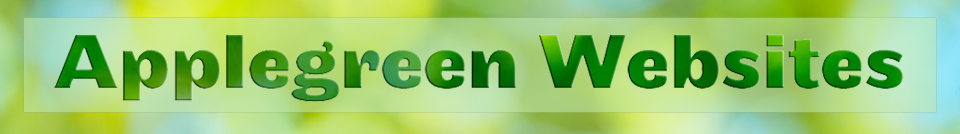 Logo for Applegreen Websites, web design in Kent and Ashford, UK
