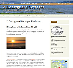 2, Coastguard Cottages, holiday home in Keyhaven