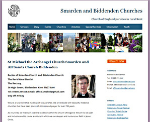 Smarden and Biddenden Churches, by Applegreen Websites