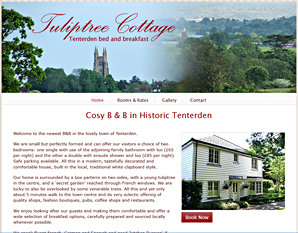 Tuliptree Cottage, B&B in Tenterden, Kent