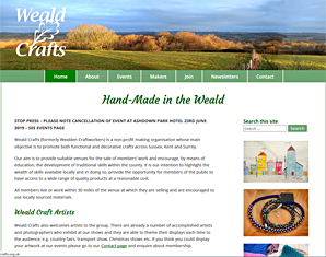 Weald Crafts, artists and makers of Kent, Sussex and Surry