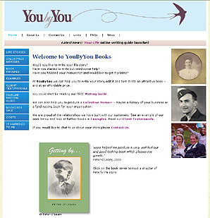 YouByYou Books, by Applegreen Websites, website design and building in Kent and the south east
